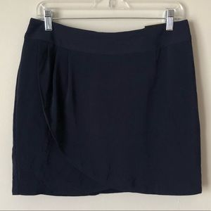 NWT Banana Republic navy blue  skirt with liner